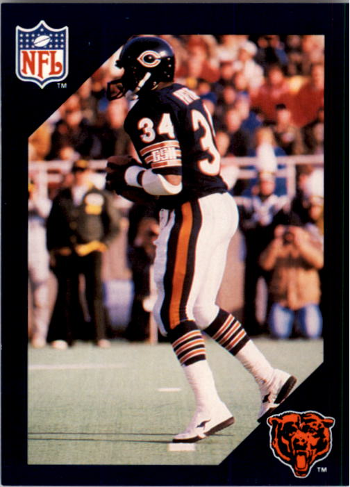 1988 Walter Payton Commemorative #17 Vs. Washington