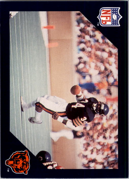 1988 Walter Payton Commemorative #19 Vs. Dallas Cowboys