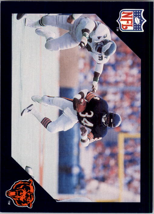1988 Walter Payton Commemorative #21 Vs. Philadelphia