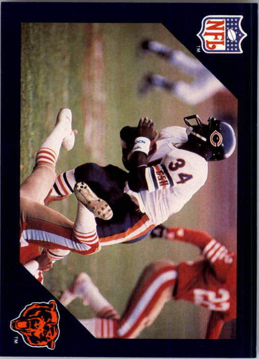 1988 Walter Payton Commemorative #25 Vs. San Francisco