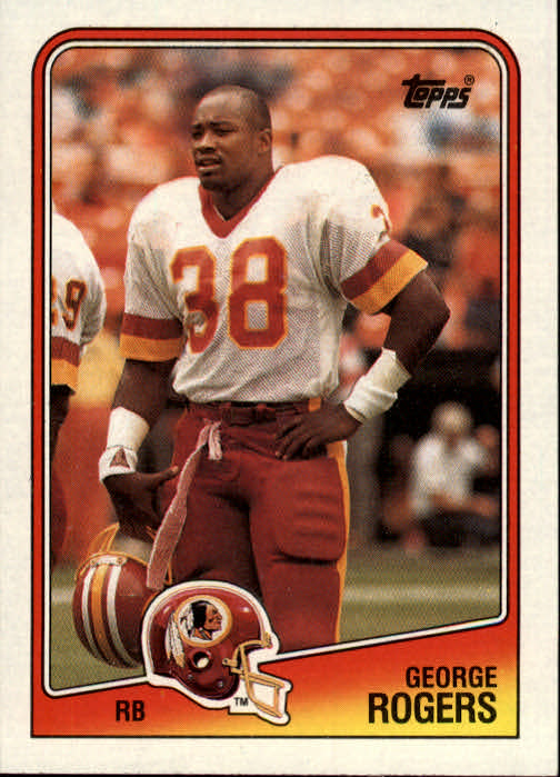 1988 Topps #9 George Rogers