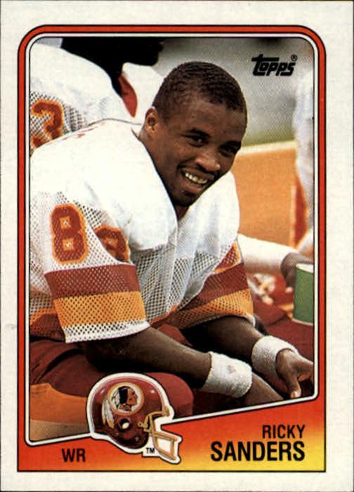 1988 Topps #14 Ricky Sanders RC