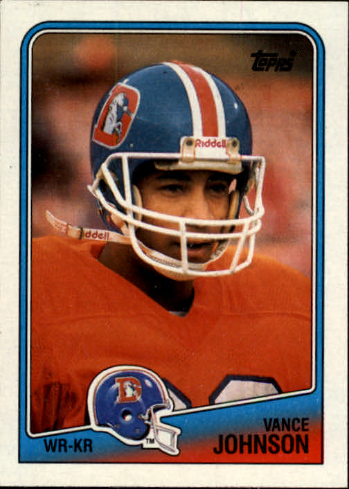 1988 Topps #25 Vance Johnson