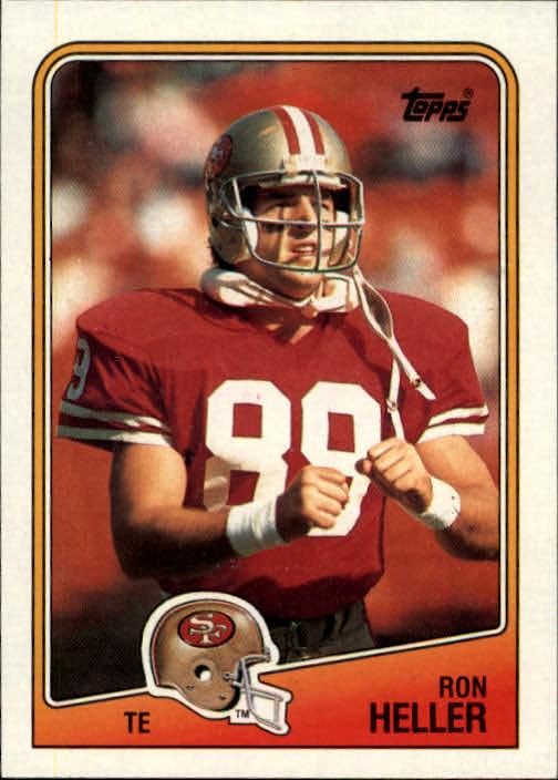1988 Topps #45 Ron Heller RC