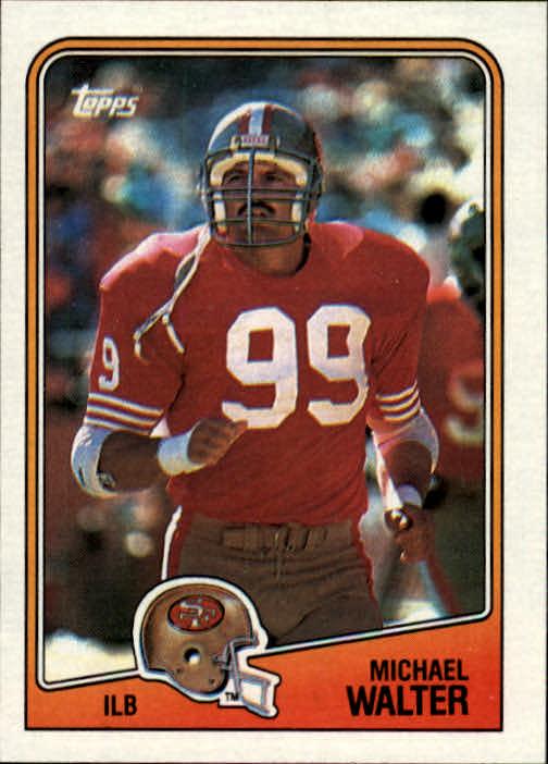 1988 Topps #49 Michael Walter RC