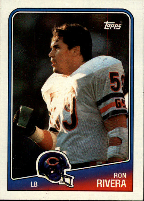 1988 Topps #81 Ron Rivera RC