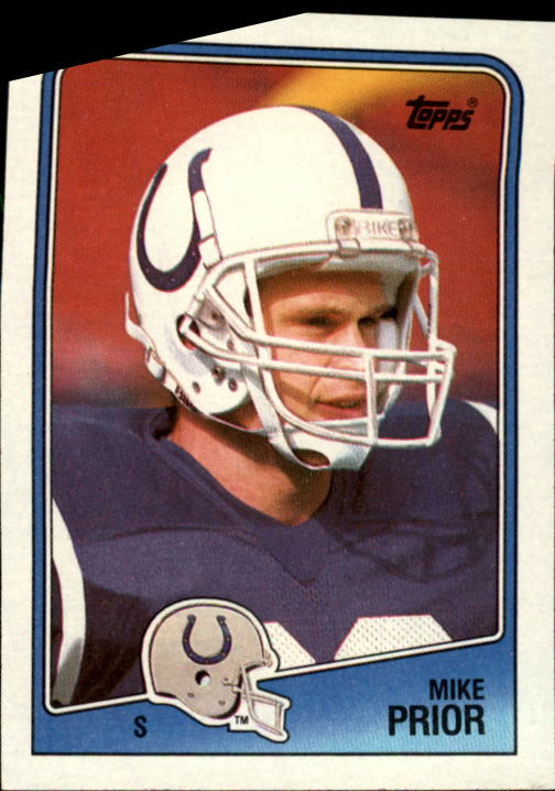 1988 Topps #129 Mike Prior RC