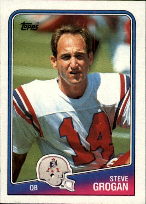 1988 Topps #176 Steve Grogan