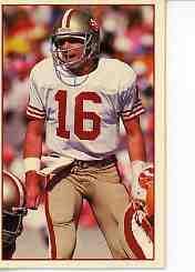 1988 49ers Police #11 Joe Montana