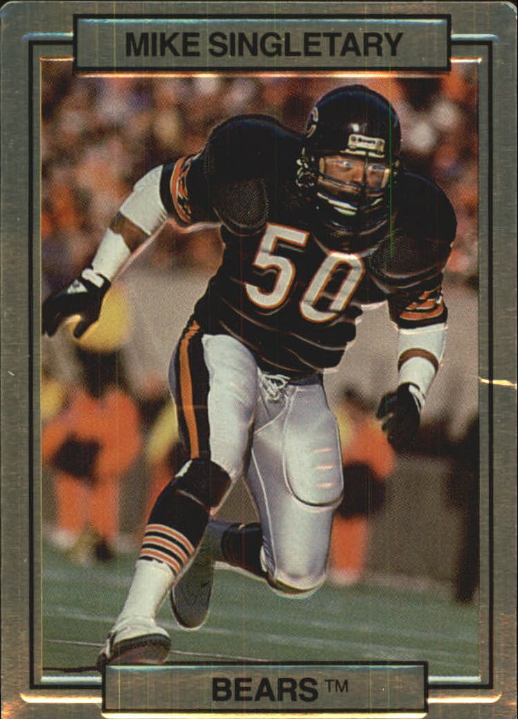 1989 Action Packed Test #9 Mike Singletary