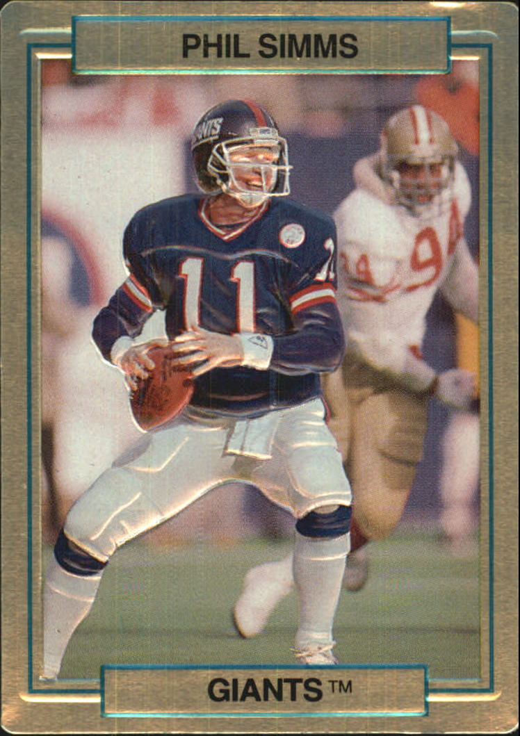1989 Action Packed Test #19 Phil Simms