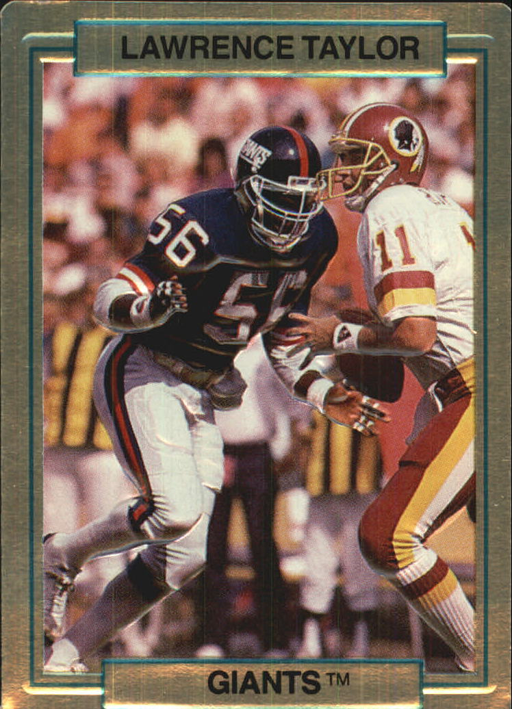 1989 Action Packed Test #20 Lawrence Taylor