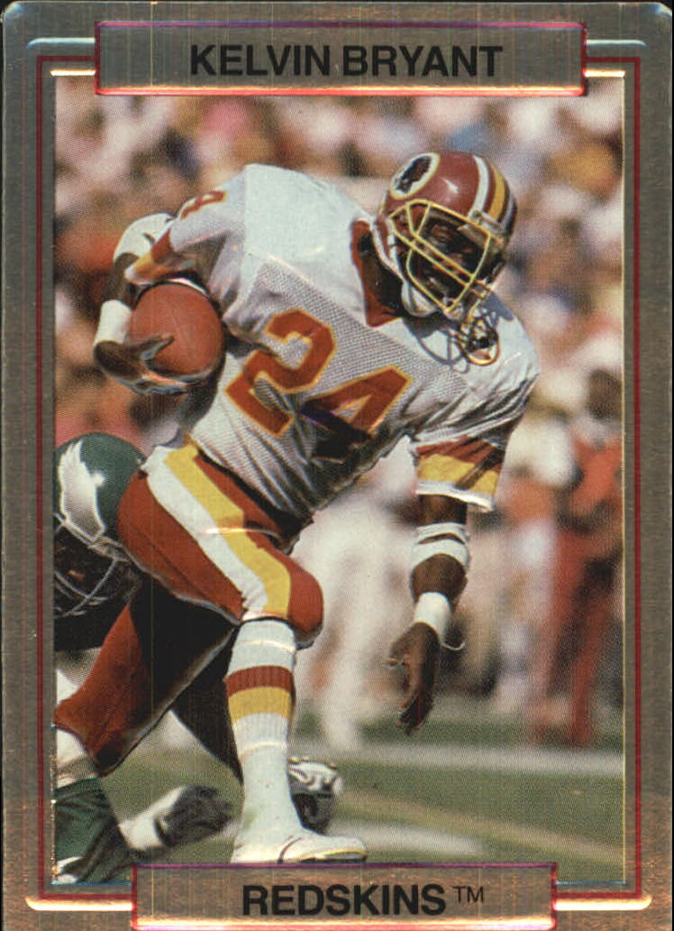 1989 Action Packed Test #21 Kelvin Bryant