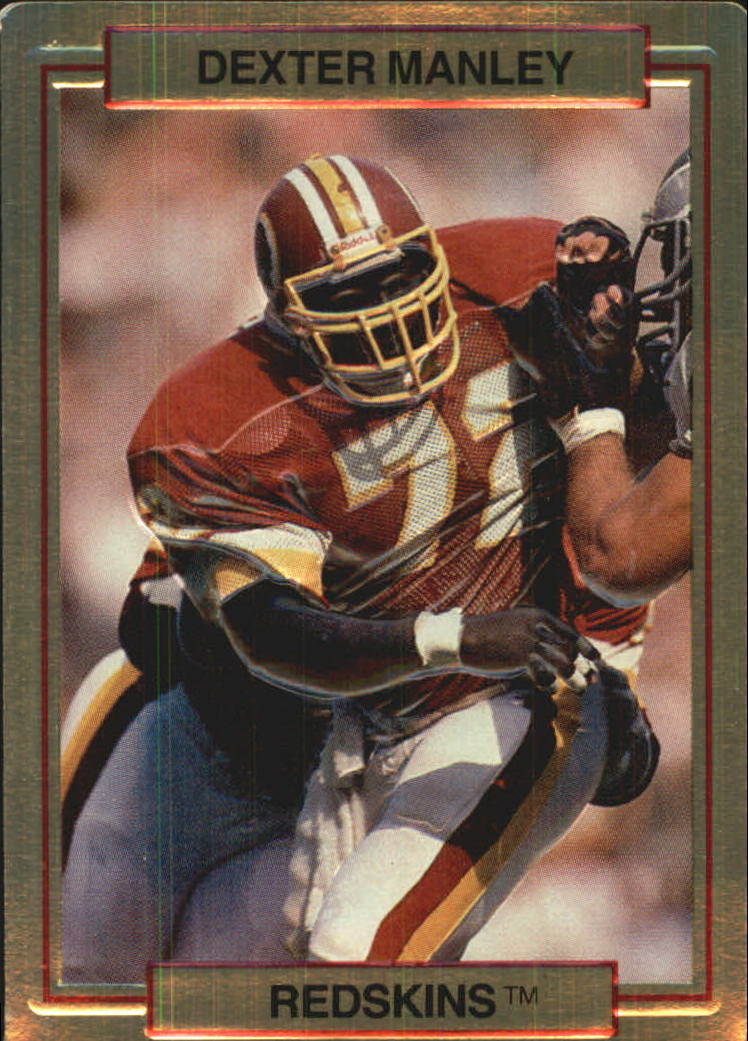 1989 Action Packed Test #23 Dexter Manley
