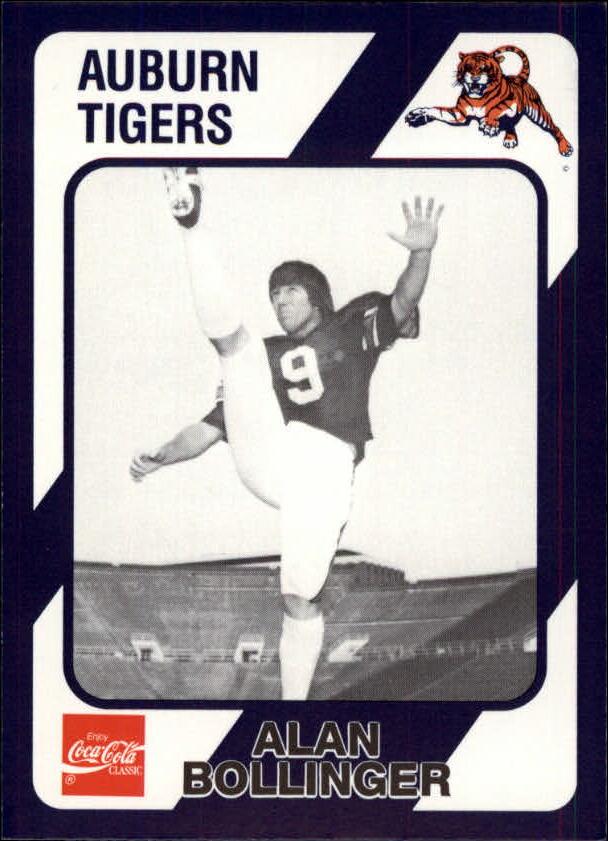1989 Auburn Coke 580 #377 Alan Bollinger
