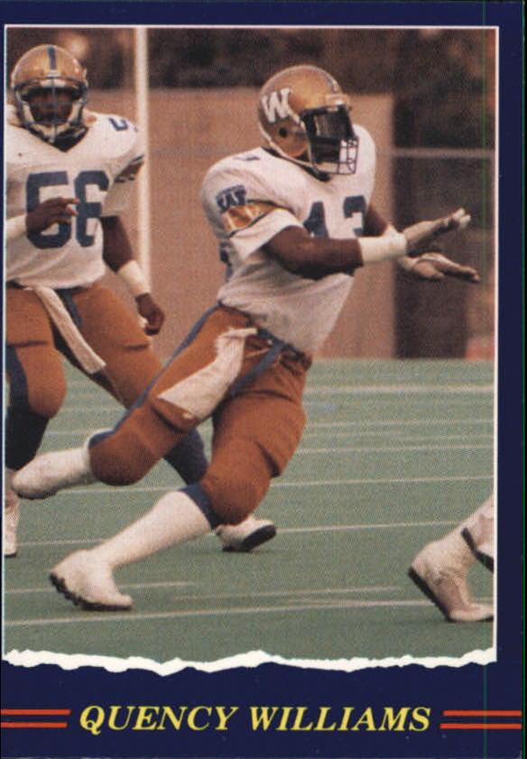 1989 JOGO #92 Quency Williams