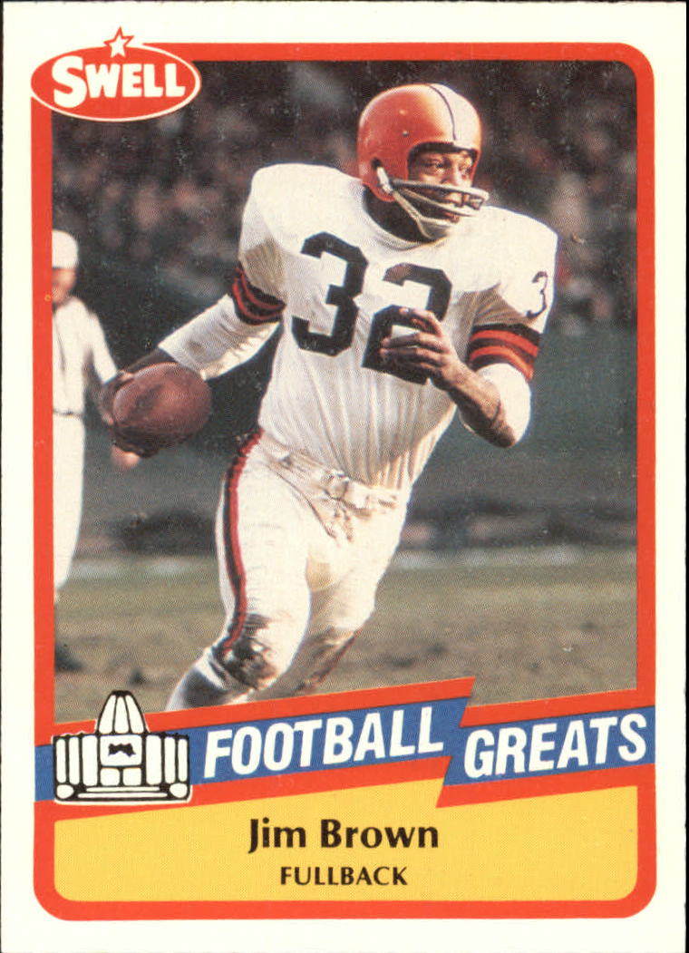 1989 Swell Greats #47 Jim Brown