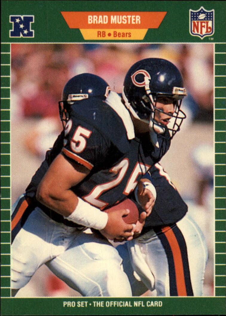 1989 Pro Set #46 Brad Muster RC