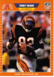 1989 Pro Set #60A Rodney Holman RC/(BENGALS on front)