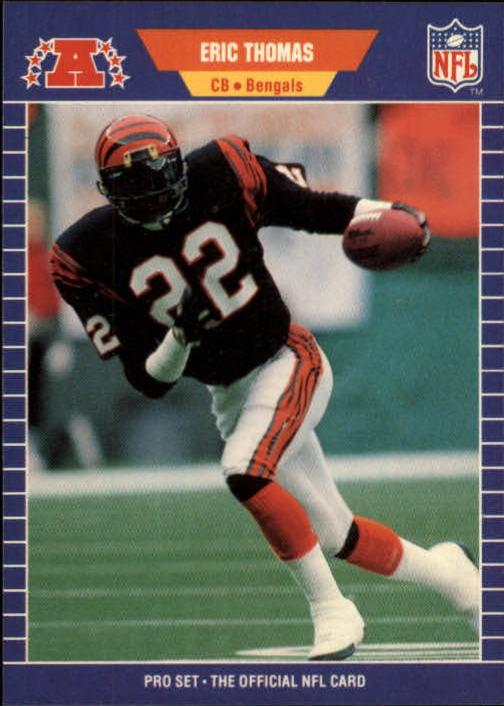 1989 Pro Set #68 Eric Thomas RC