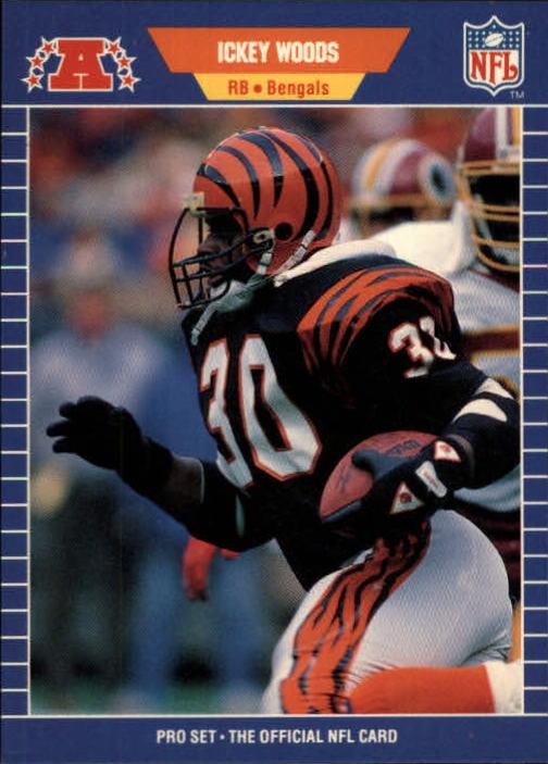 1989 Pro Set #70 Ickey Woods RC
