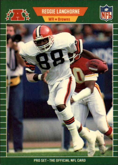 1989 Pro Set #78 Reggie Langhorne RC