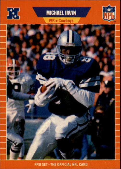1989 Pro Set #89 Michael Irvin RC