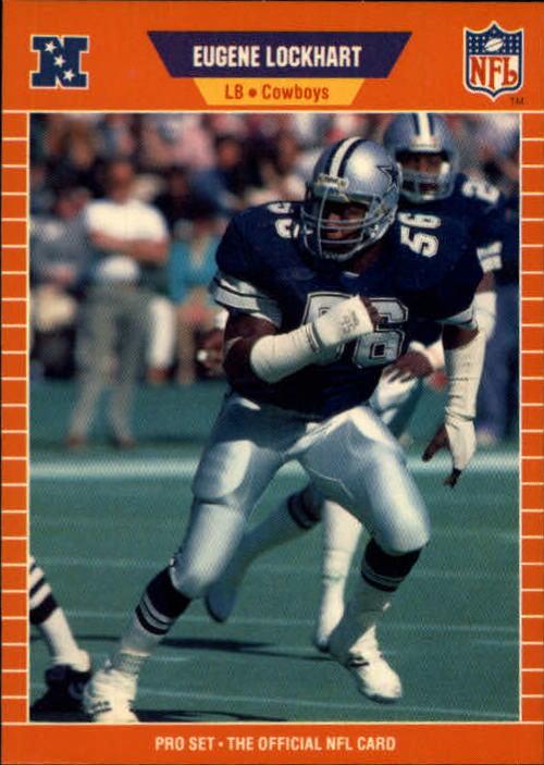 1989 Pro Set #92 Eugene Lockhart RC