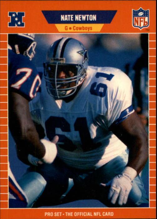 1989 Pro Set #93 Nate Newton RC