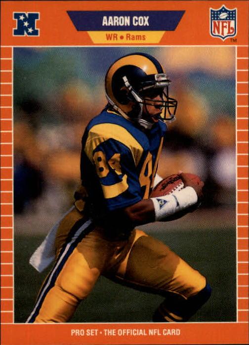1989 Pro Set #197 Aaron Cox RC