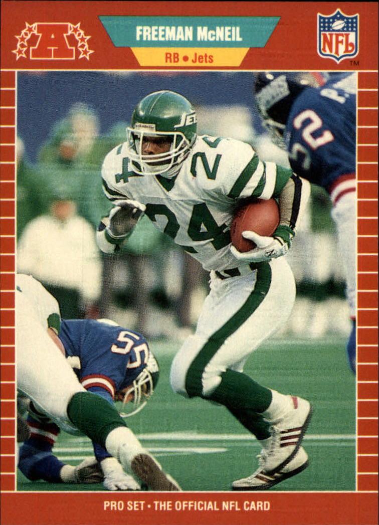 1989 Pro Set #304 Freeman McNeil