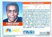 1989 Pro Set Announcers #28 Ahmad Rashad back image