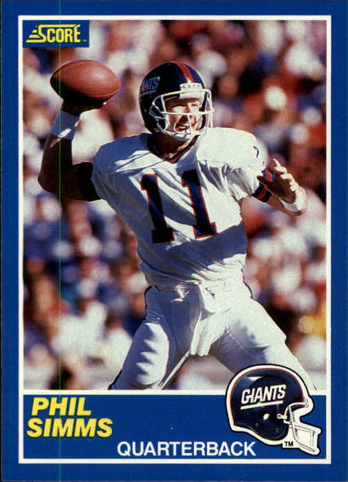 1989 Score #6 Phil Simms
