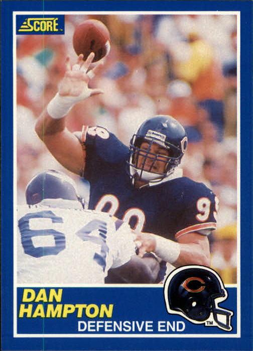 1989 Score #7 Dan Hampton