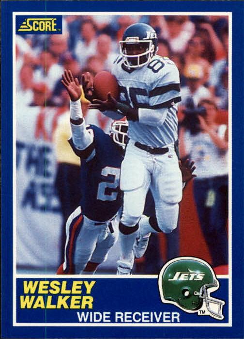 1989 Score #35 Wesley Walker