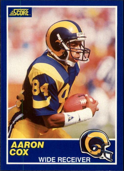 1989 Score #45 Aaron Cox RC