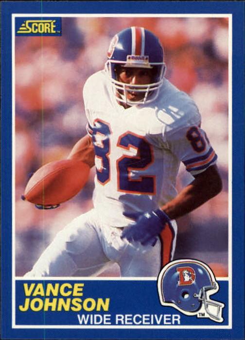 1989 Score #56 Vance Johnson