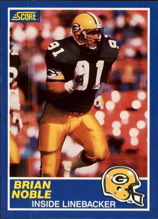 1989 Score #91 Brian Noble