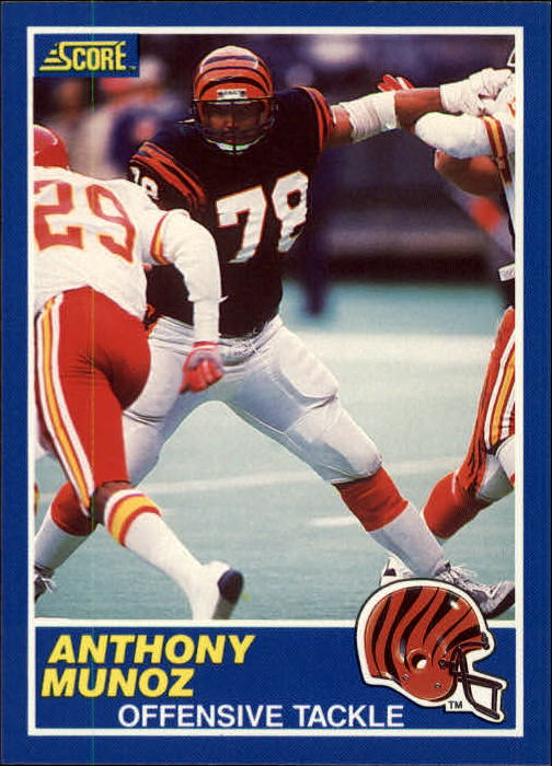 1989 Score #96 Anthony Munoz