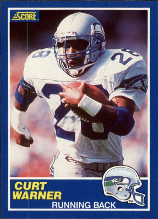 1989 Score #106 Curt Warner
