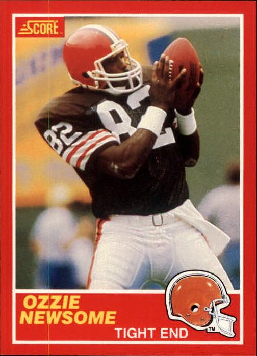 1989 Score #124 Ozzie Newsome