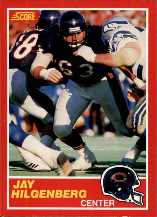 1989 Score #150 Jay Hilgenberg