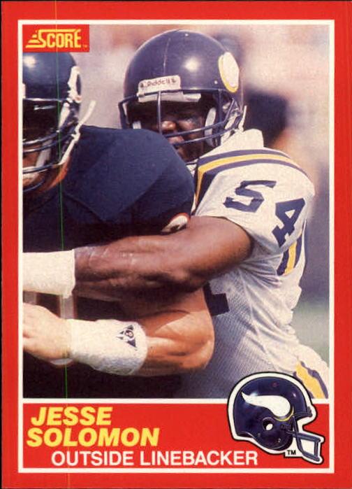 1989 Score #181 Jesse Solomon