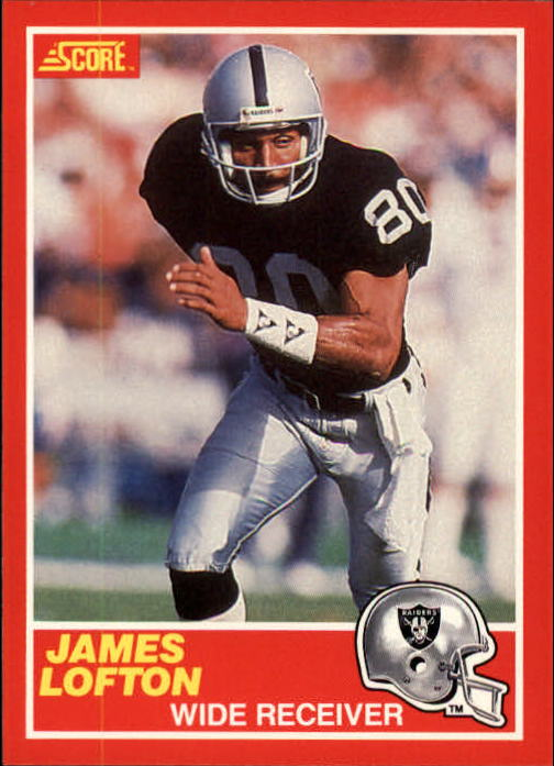 1989 Score #213 James Lofton