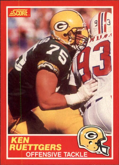 1989 Score #219 Ken Ruettgers RC