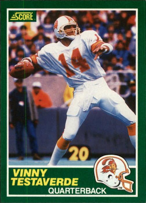 1989 Score #224 Vinny Testaverde