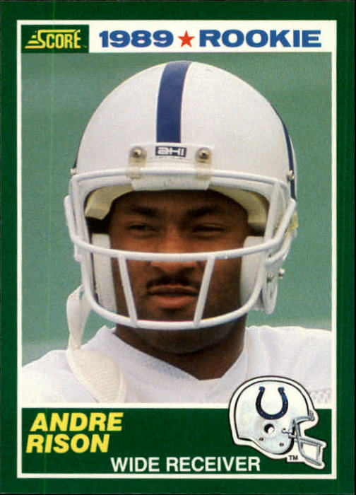 1989 Score #272 Andre Rison RC
