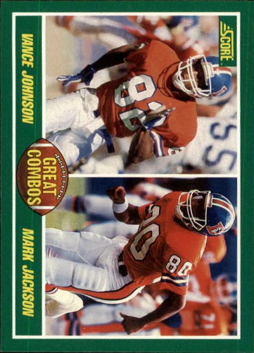 1989 Score #277 Mark Jackson/Vance Johnson/Ricky Nattiel