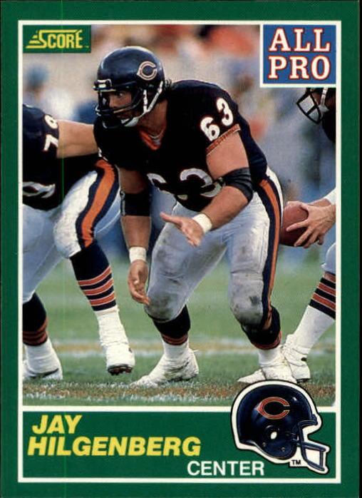 1989 Score #288 Jay Hilgenberg AP