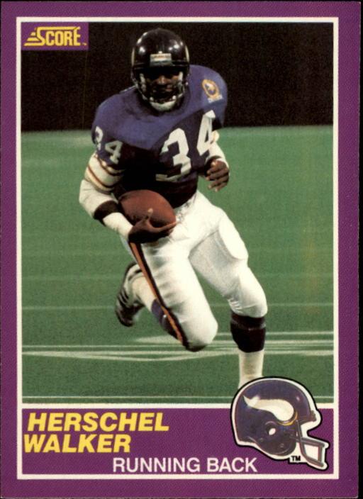 1989 Score Supplemental #331S Herschel Walker